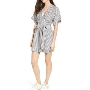 bp ◾ Striped Button Down Mini Dress
